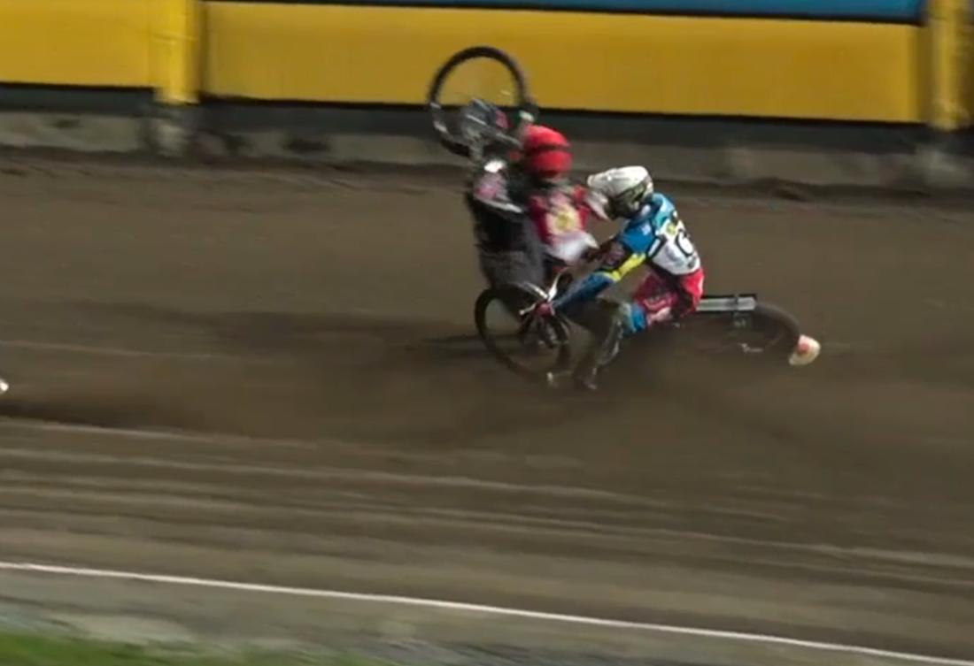 Pontus Aspgren kraschade otäckt.