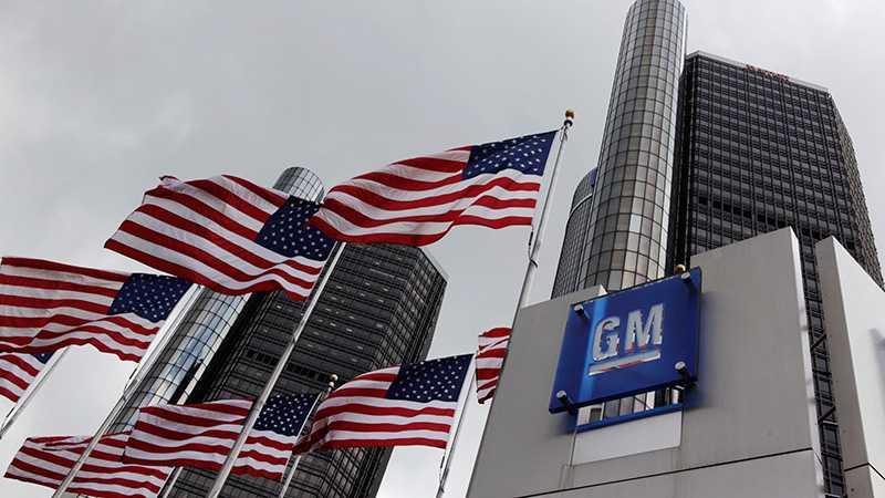 GM:s huvudkontor i Detroit, USA.