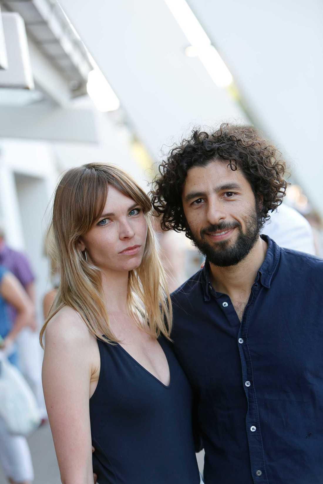 José González och flickvännen Hannele Fernström