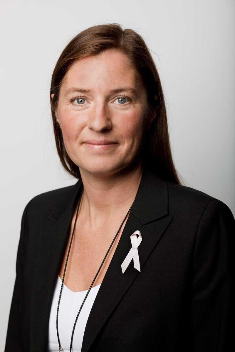 Irma Fredriksson forskar om bröstcancer.