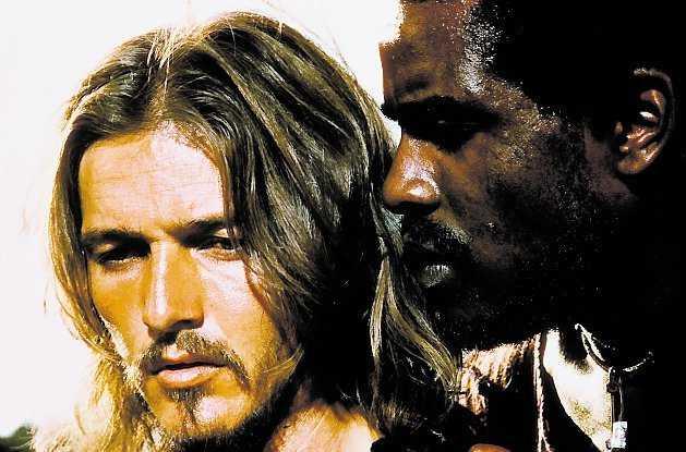 Ted Neely som Jesus i filmen.