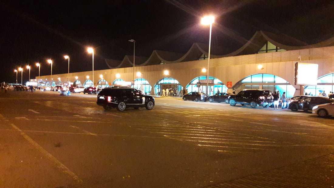 Kung Abdulaziz internationalla flygplats i Jeddah.