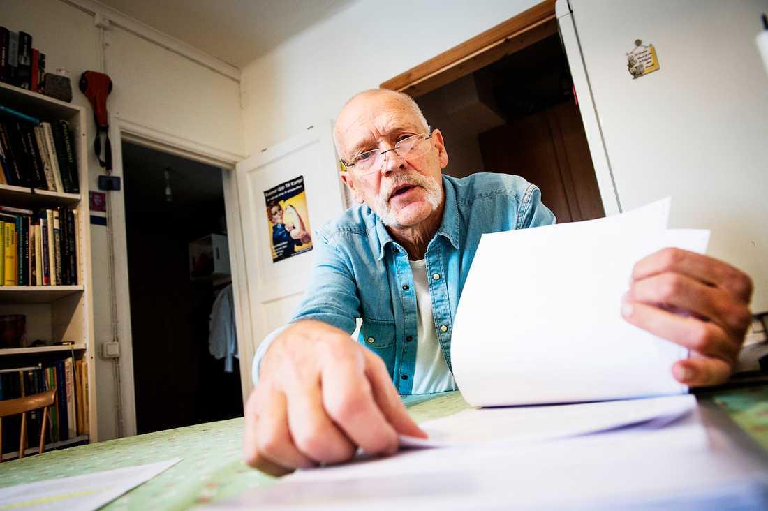 Hjälper andra drabbade Leif Kåvestad, 72, kämpade mot AFA Försäkring i över fem år för sin rätt till livränta och ersättning. Han hjälper sedan dess fyra andra arbetsskadade män