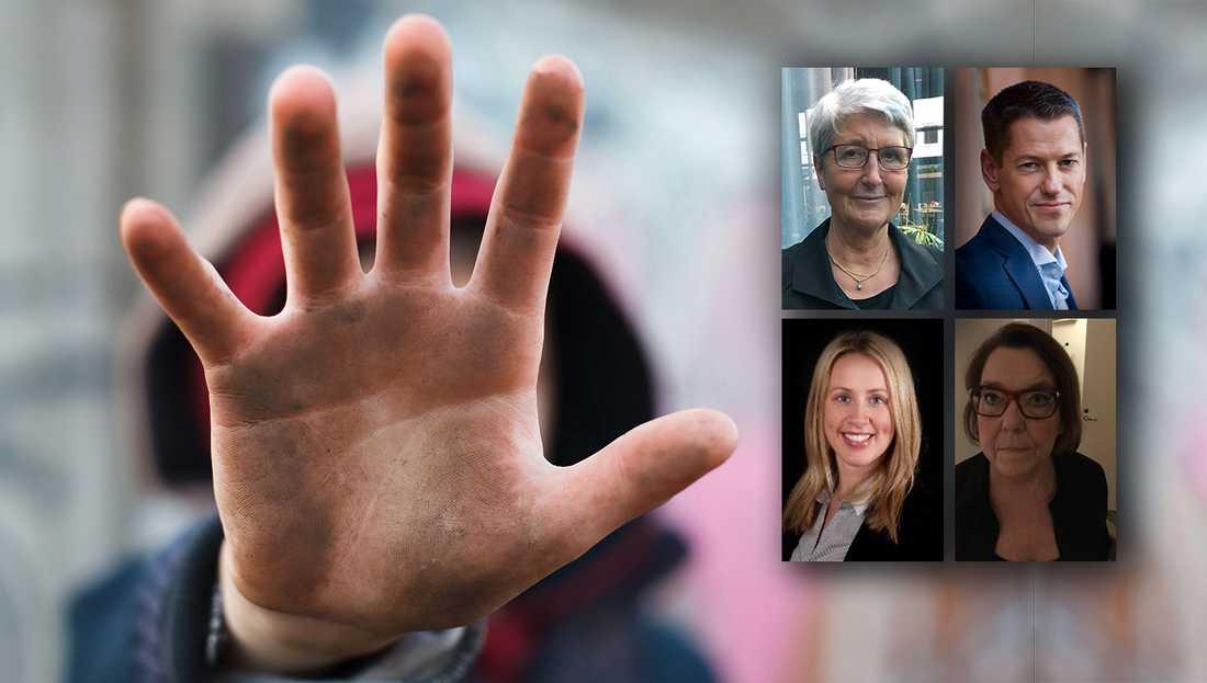 Trots att det gått 28 år sedan Sverige ratificerade barnkonventionen så vittnar Bris dagliga kontakter med barn om att vi som land inte lyckats garantera varje barn dess grundläggande mänskliga rättigheter, skriver debattörerna.