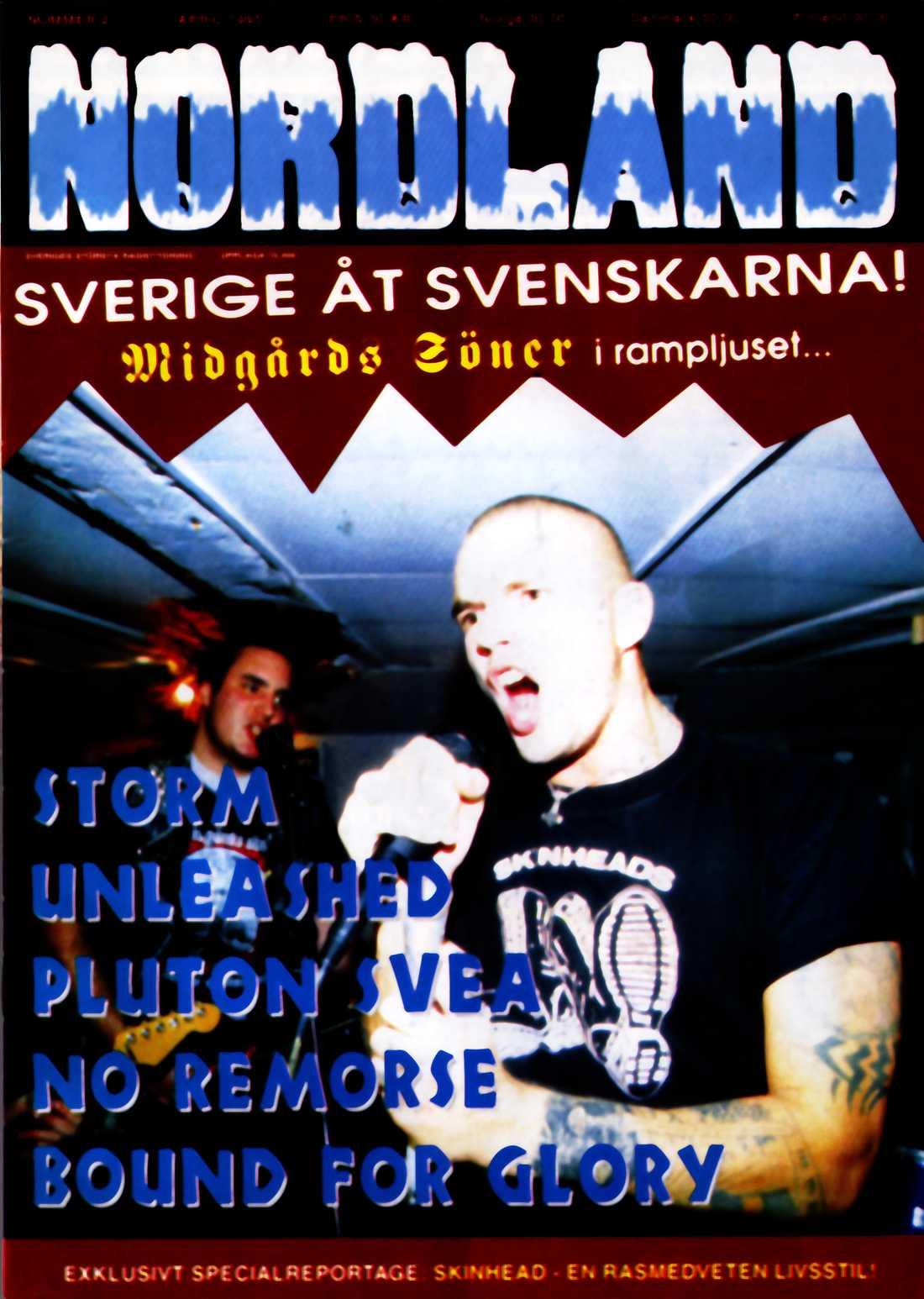 Vit makt-tidningen Nordland 1995