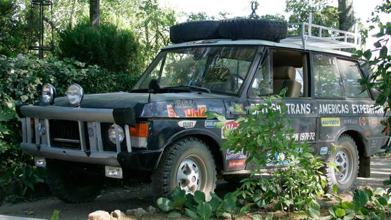 Bilen som deltog i British Trans-Americas Expedition ser med all rätt lite sliten ut. Foto: Johannes Collin