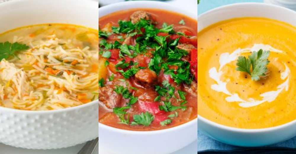 Soppa – mättande och gott.