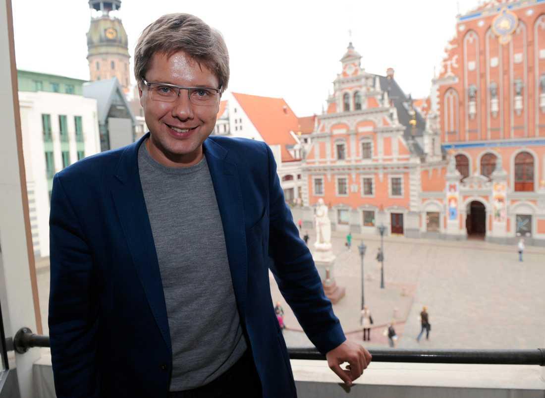 Nils Usakovs. Arkivbild.