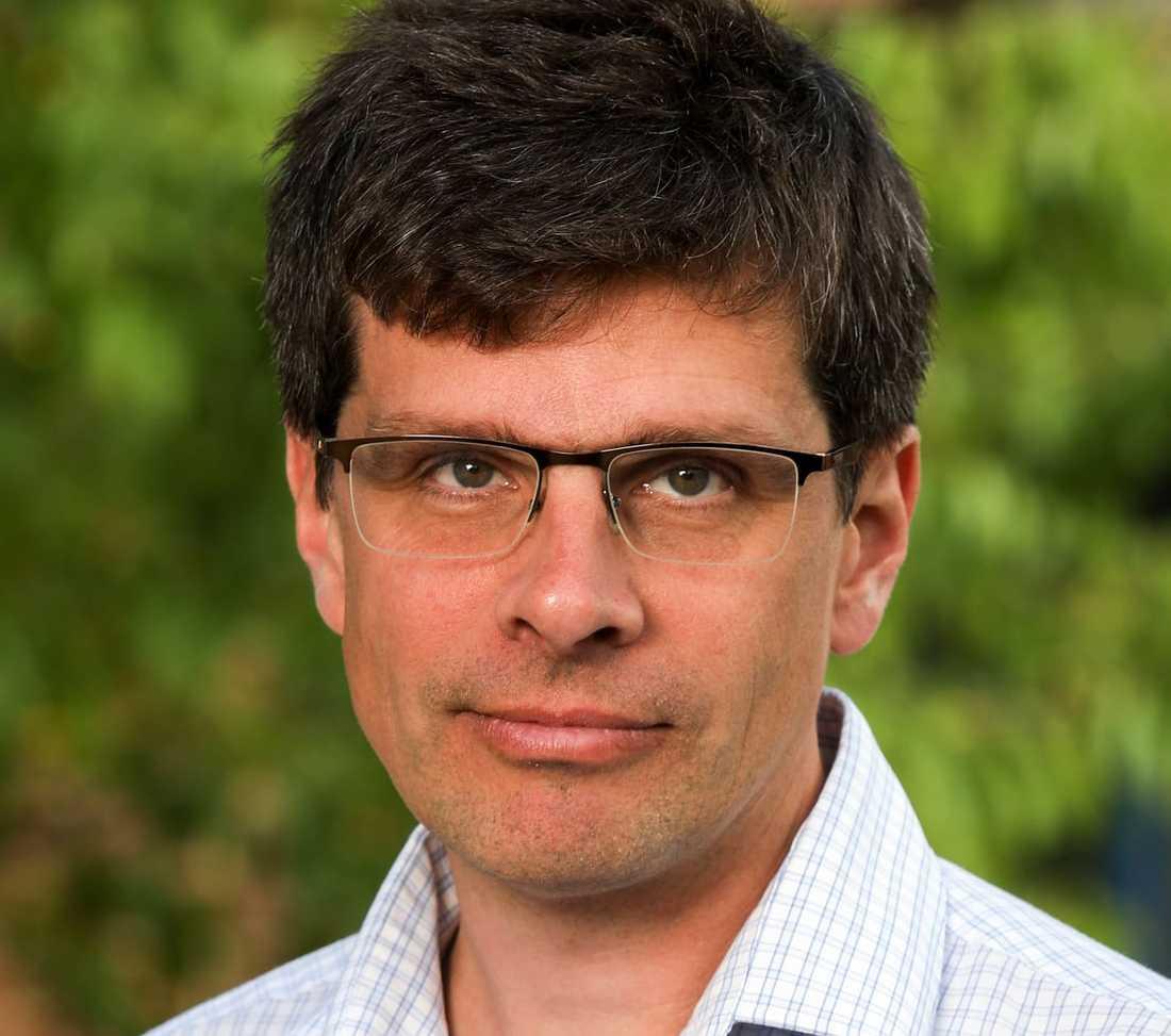 Erik Kjellström, professor i klimatologi vid SMHI.