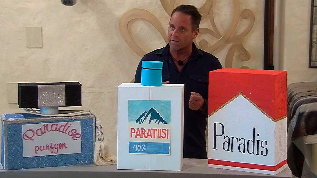 "Håkan Hallin i ""Paradise Hotel""."