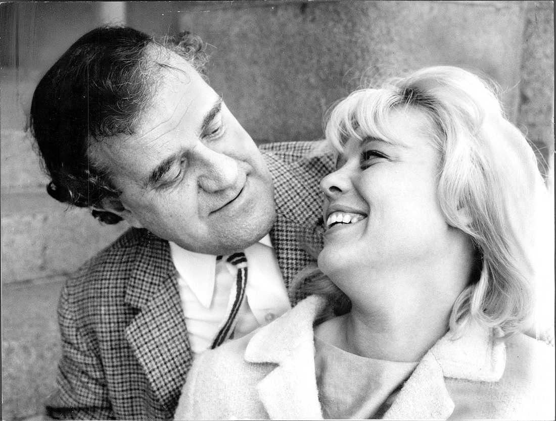 Sture Ericson med maka Inga Ålenius 1967.
