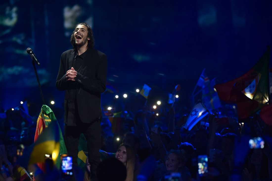 Portugals Salvador Sobral vann Eurovision.