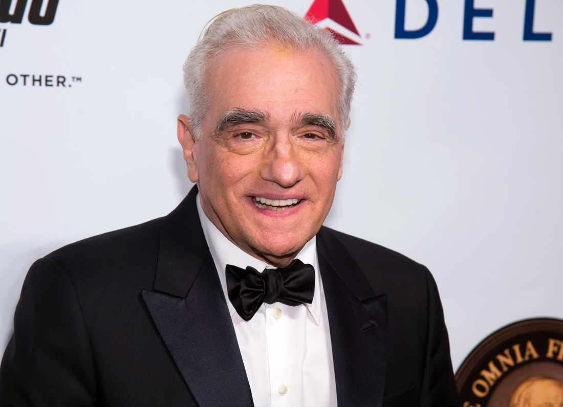 Filmmakaren Martin Scorsese .