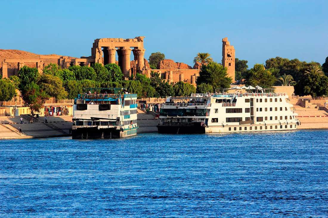 Flodbåtarna på Nilen har det tufft just nu.