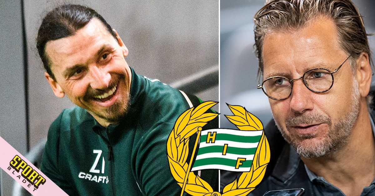 Zlatan fortsätter att flörta med Hammarby