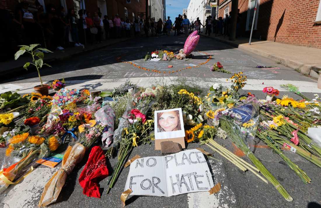 Det var i Charlottesville den högerextrema manifestationen ägde rum.