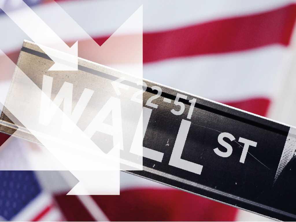 Viruset fortsätter trycka ned Wall Street