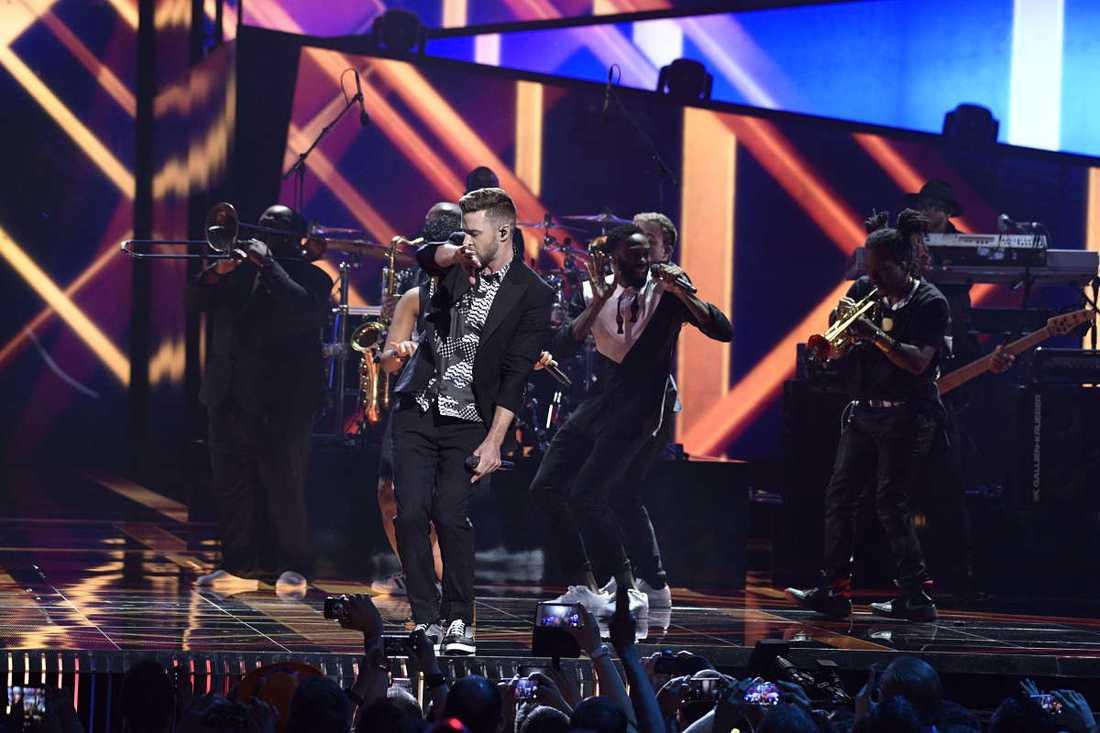 Justin Timberlake i Globen.