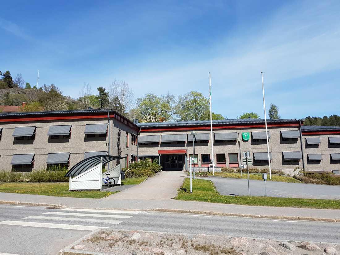 Kommunhuset Strömsvik i Valdemarsvik.