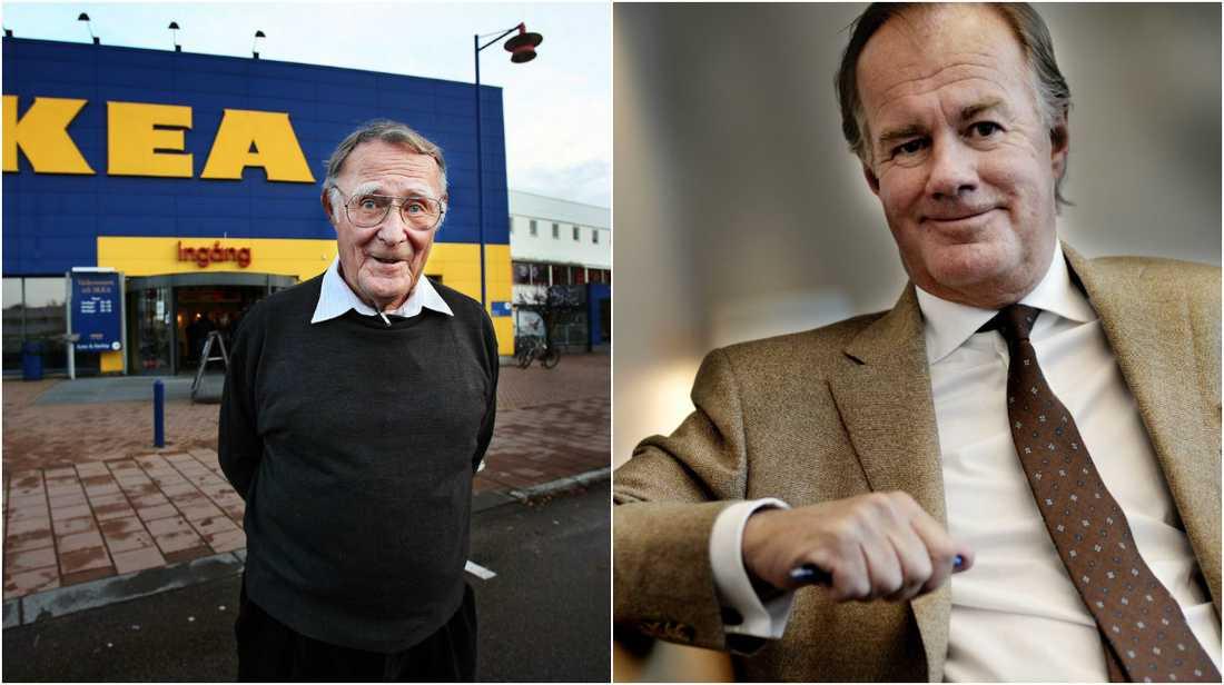 Ingvar Kamprad och Stefan Persson är med på listan.