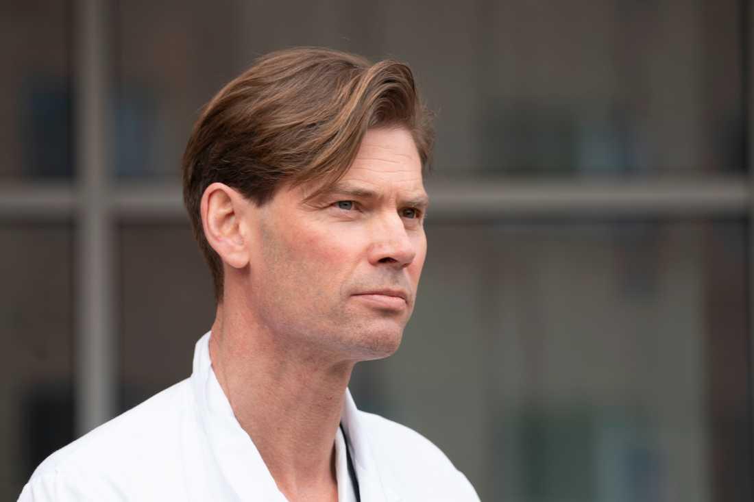 Pål André Holme, professor vid Oslos universitetssjukhus.
