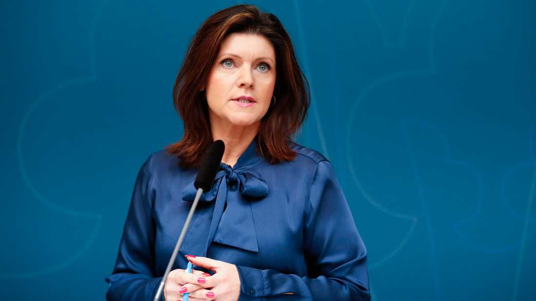 Arbetsmarknadsminister Eva Nordmark (S). Arkivbild.