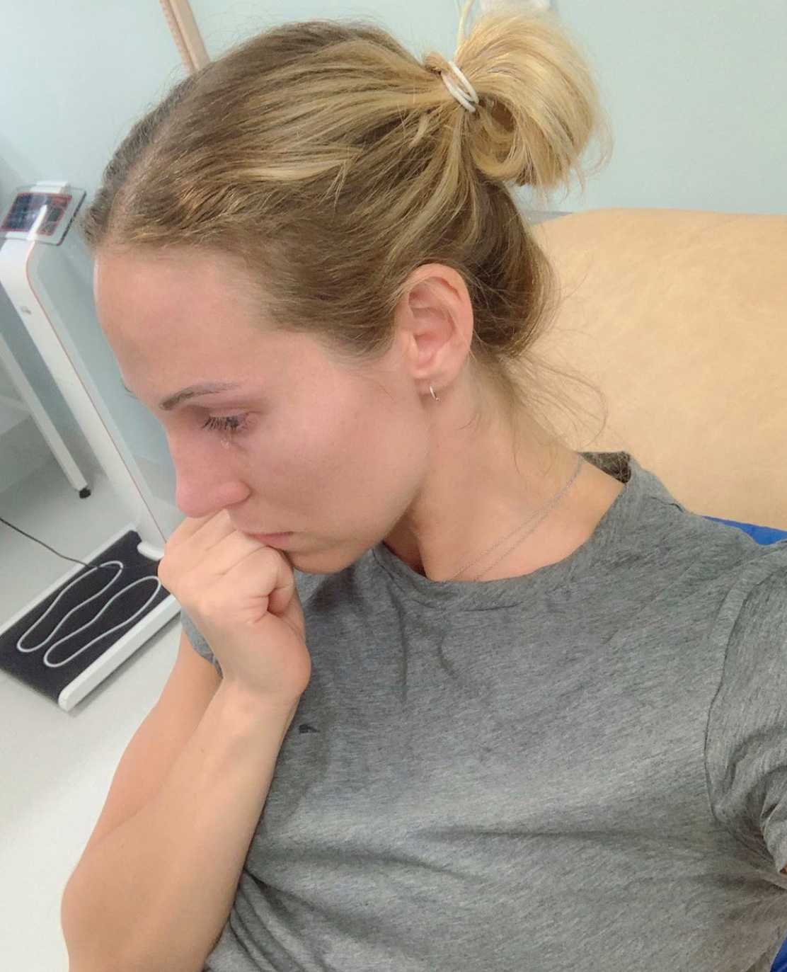 Elin Kjos, 32, har drabbats av lungcancer.