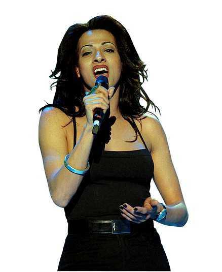 Dana International vann Eurovisionsschlagerfinalen för Israel 1998.
