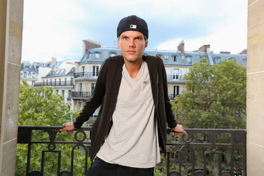 """Tim Bergling, """"Avicii"""", fotograferad i Paris 2013 för franska tidningen Le Parisien."""