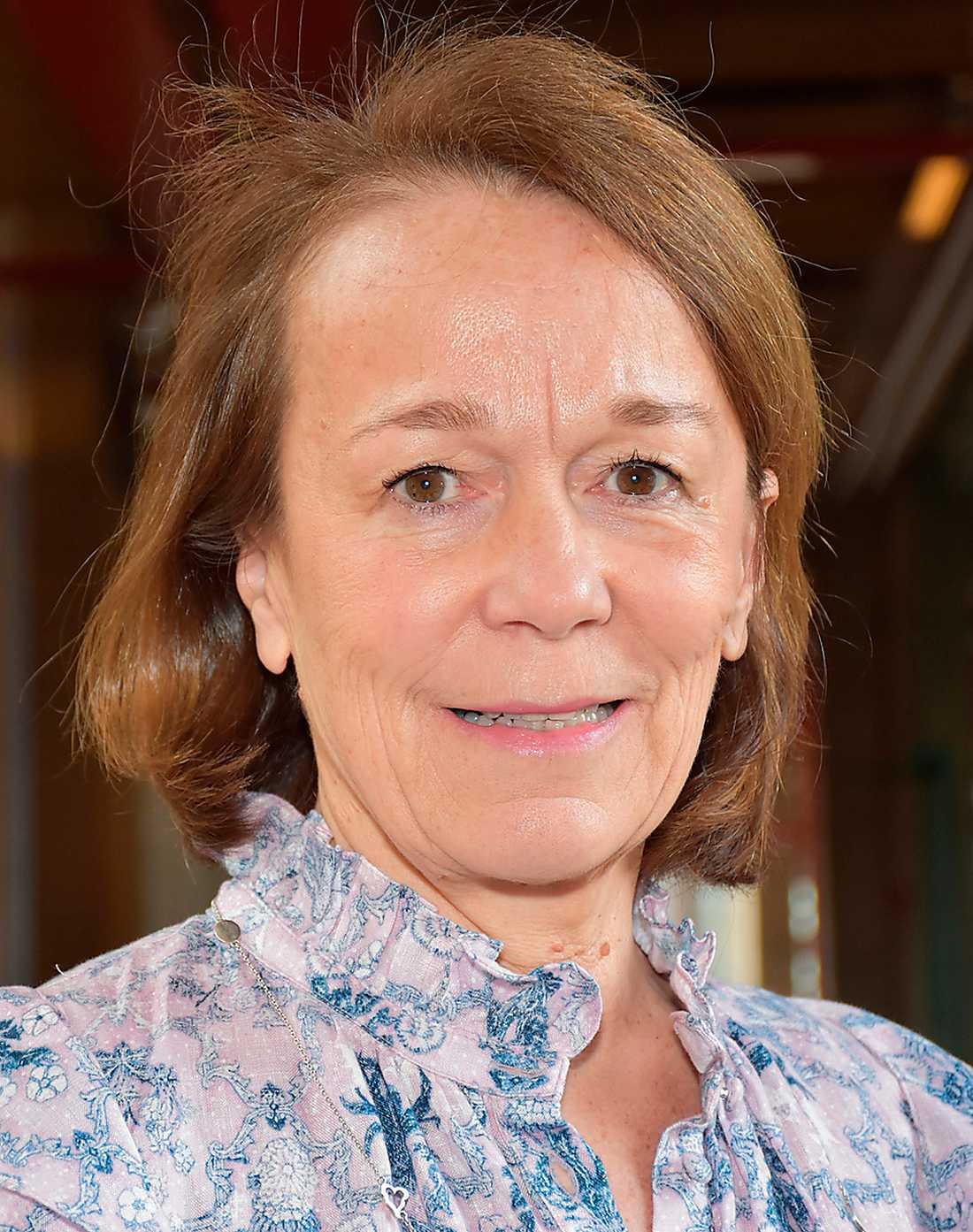 Helen Stoye undertecknade SCB:s avtal med Evry.