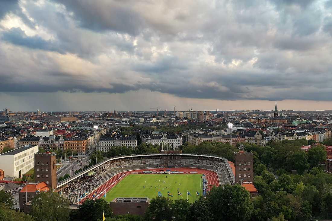 Stockholms stadion.