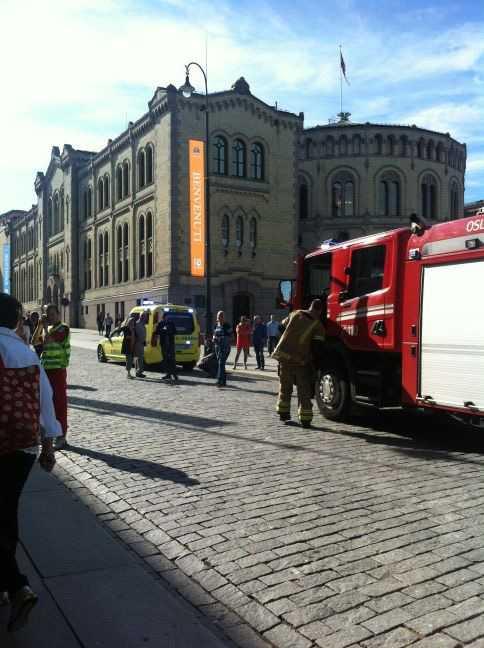 Bruce Springsteens hotell i Oslo evakuerades efter ett brandlarm.