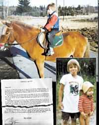 KAOTISK BARNDOM Tony Olssons barndom blev rörig efter föräldrarnas skilsmässa.