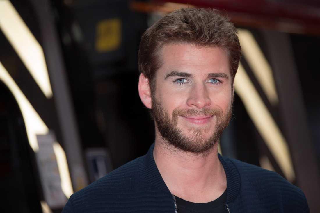 Hunger Games-stjärnan Liam Hemsworth.
