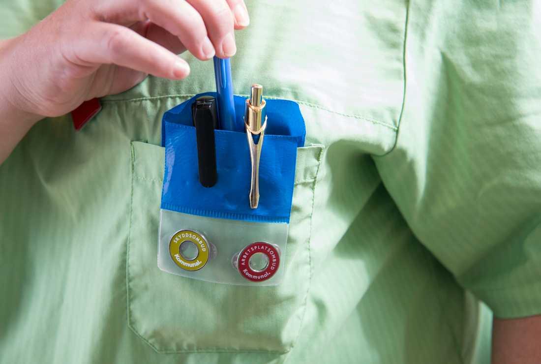 Undersköterska i omsorgen är Sveriges vanligaste yrke.