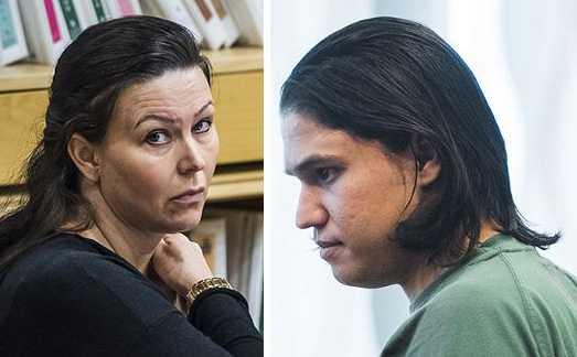 Dömda: Johanna Möller och Mohammad Rajabi.