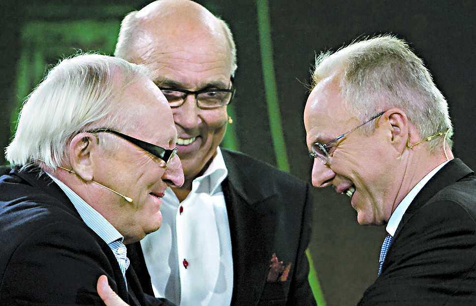 ...och här med Sven-Göran Eriksson.