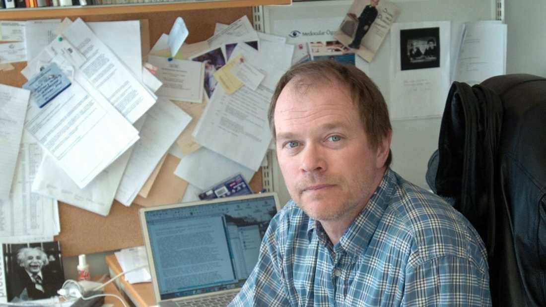 Dennis Töllborg, professor i rättsvetenskap vid Göteborgs universitet, anser att processen mot de sex männen som enligt Säpo har kopplingar till islamistiska miljöer är ovärdig en rättsstat. Arkivbild.