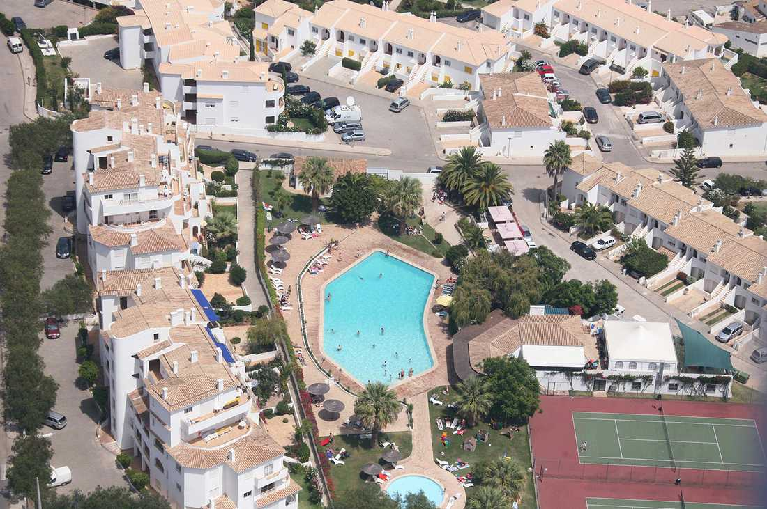 Praia de Luz i Portugal där Madeleine McCann försvann 2007.