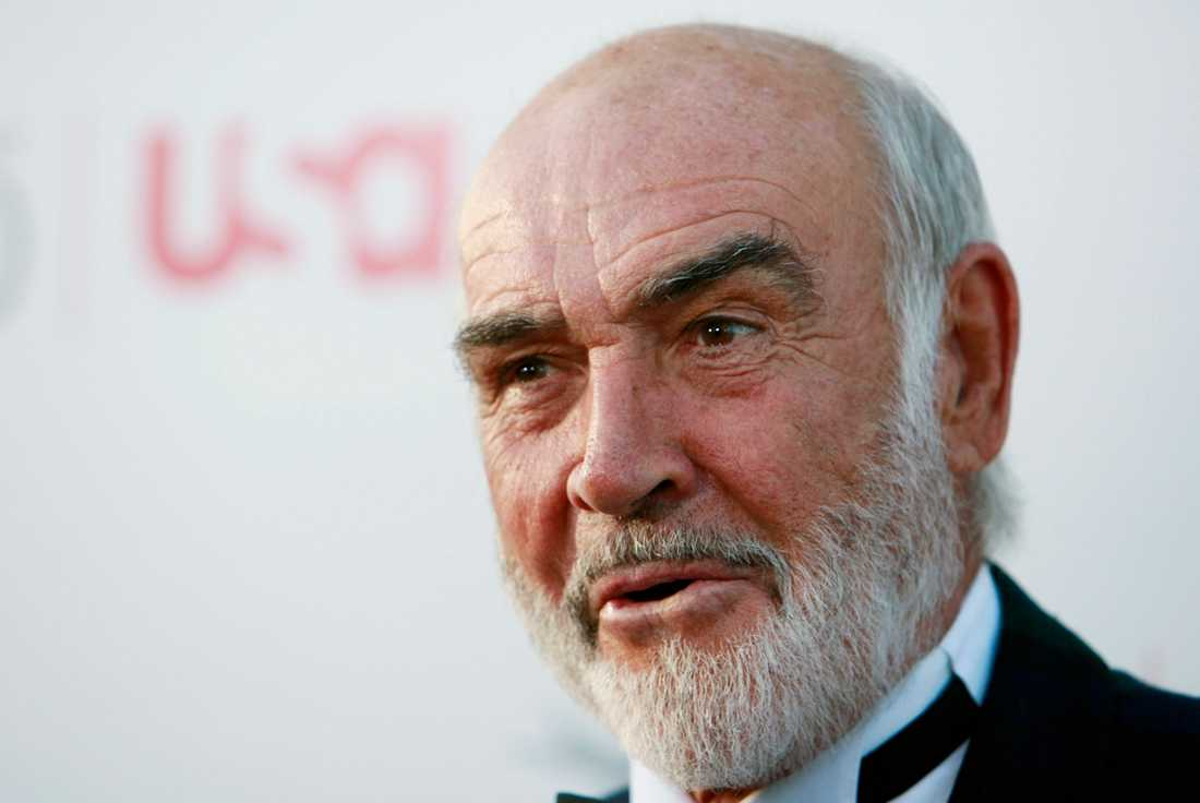 Sean Connery. Arkivbild.