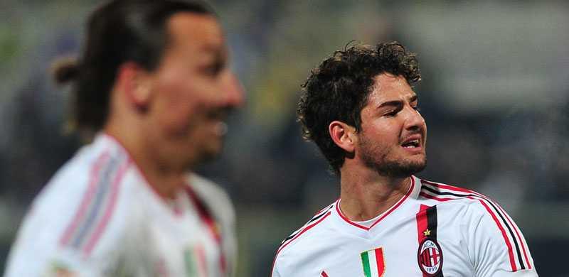 Pato med Zlatan i förgrunden.