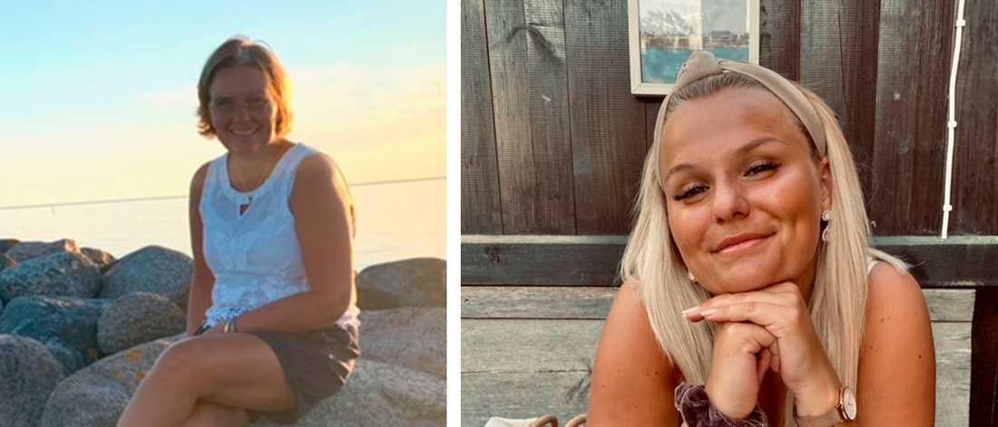 Mamma Lollo Hällasjö räddades till livet av dottern Emma Hällsasjö.
