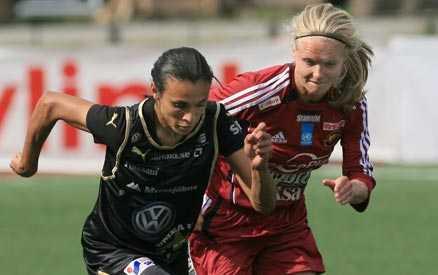 Sviten bruten Djurgården bröt Umeås 55 matcher långa svit utan förlust i allsvenskan. Djurgården vann med 2-1 på bortaplan.