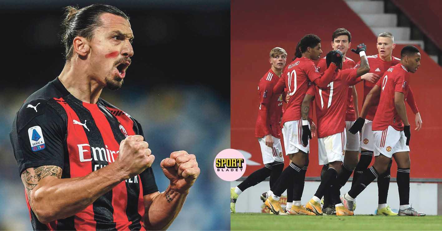 Zlatans Milan möter Man United i Europa League – hela lottningen
