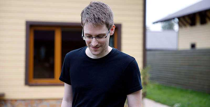 """Visselblåsaren Edward Snowden i dokumentären """"Citizenfour""""."""