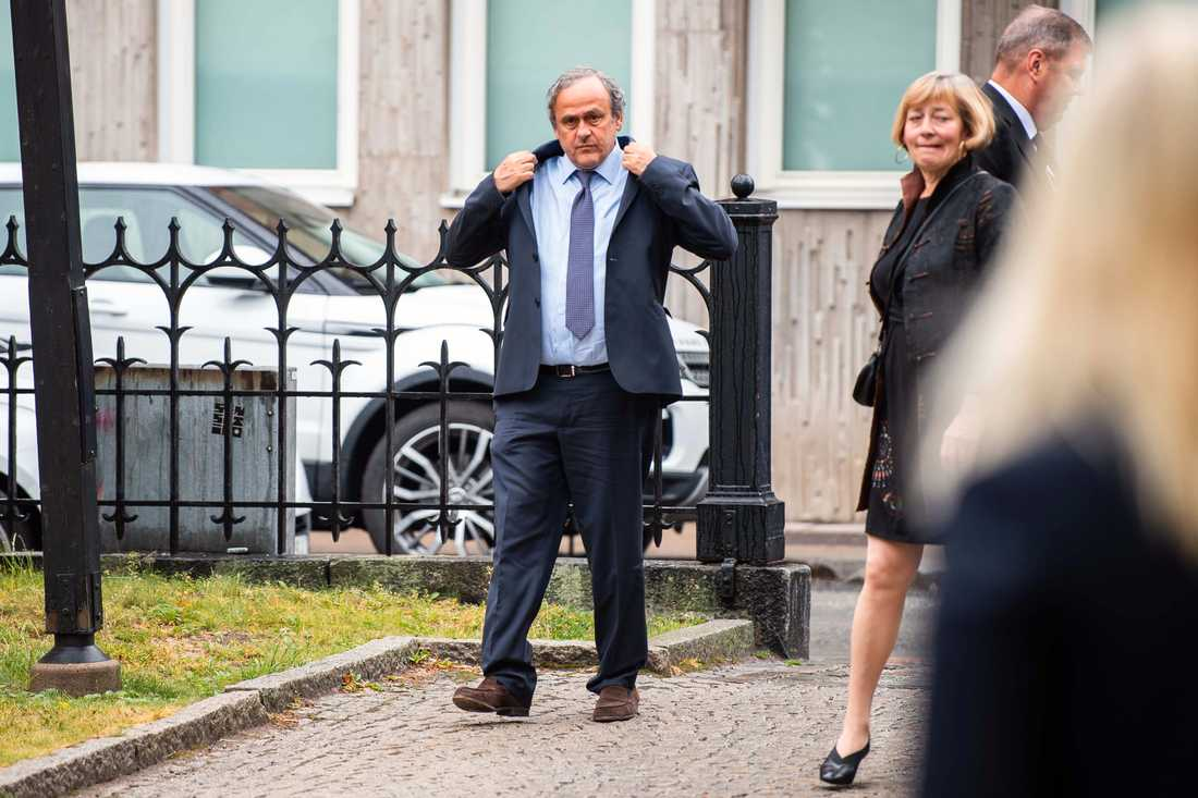 Michel Platini, fd Uefa-president.