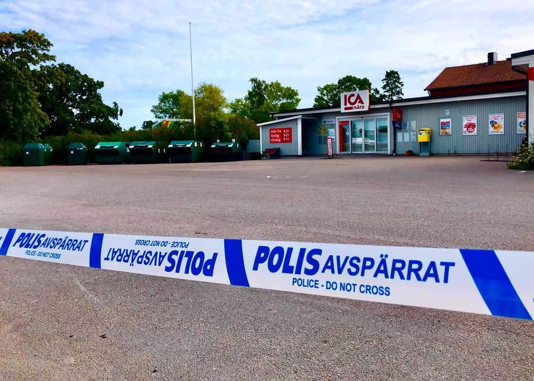 Polisen vädjar om hjälp från allmänheten efter ett grovt rån i Böda.