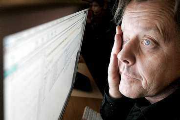 SYNEN RASAr 75 procent av datoranvändarna äver 45 år får försämrad syn av att sitta framför datorskärmen.