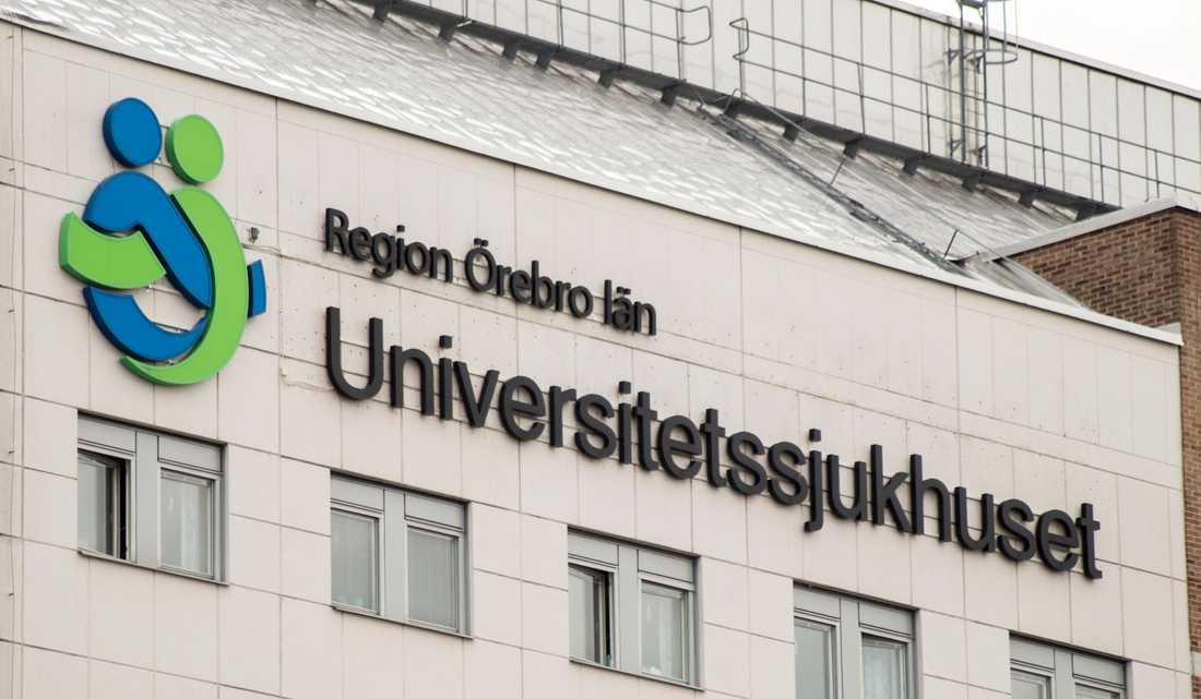 Universitetssjukhuset Örebro är utsett till Bästa sjukhuset 2019 i klassen universitetssjukhus. Arkivbild.