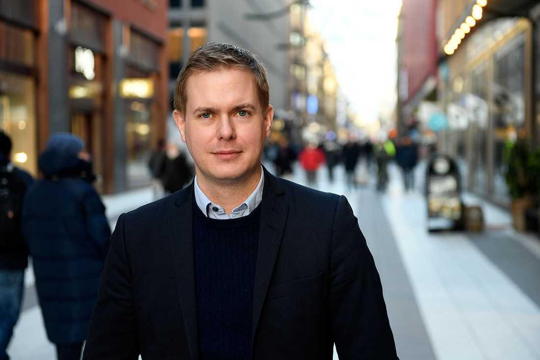 Gustav Fridolin (MP) slutar som utbildningsminister.